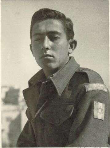 Dvaadvacetiletý Jaakov Šaret vChacerim. Foto Archív Jaakova Šareta