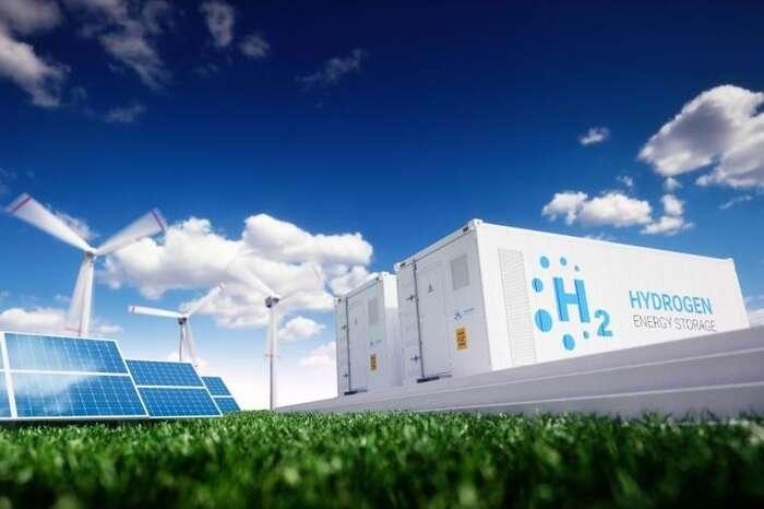 Analýzy Corporate Europe Observatory aGreenpeace ukazují, že fosilní firmy masivně tlačí narozvoj vodíku právě proto, že vněm vidí potenciál jak získat peníze pro stavbu plynové infrastruktury. Realita významnému rozvoji vodíku nenahrává. Takzvaný zelený vodík, který jako jediný vzniká pomocí obnovitelných zdrojů, jevsoučasnosti oproti veškerým alternativám neefektivní, příliš drahý apodle analýz nebude zřejmě vevelkém dostupný ani vroce 2050. Foto FBEU Science Hub — Joint Research Centre