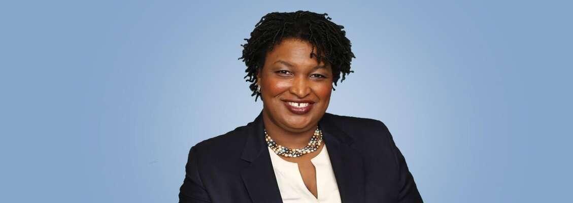 Přední georgijská aktivista apolitička Stacey Abramsová. Foto CommonwealthClub.org