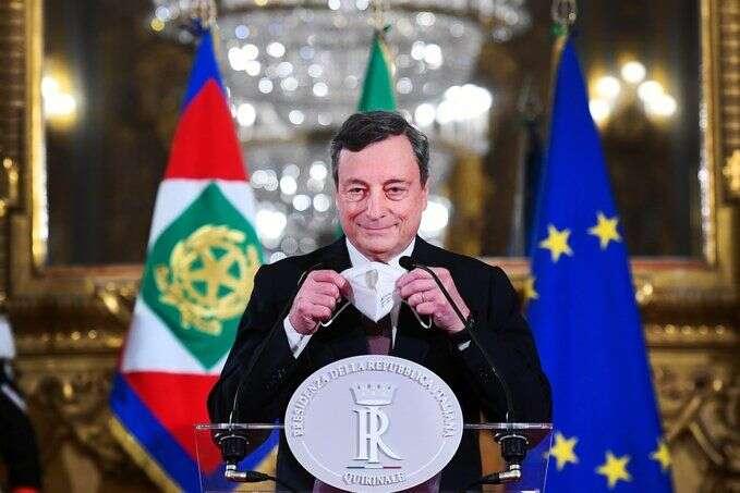 Kabinet Maria Draghiho má uveřejnosti vposledních průzkumech dvaašedesátiprocentní podporu. Foto archiv DNE
