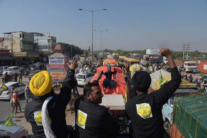 Protestní hnutí má formu stovek nejrůznějších akcí pocelé zemi. Trvá již odloňského podzimu. Foto Randeep Maddoke, WmC