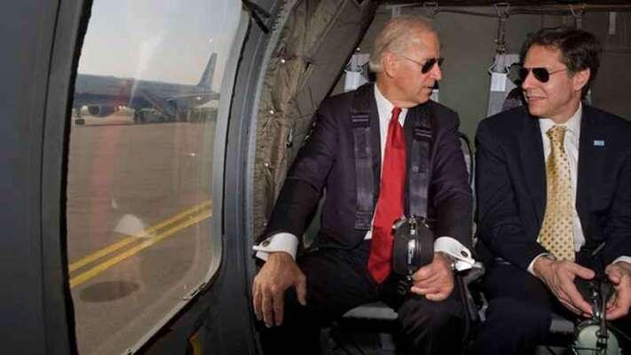 Prezident Joe Biden (vlevo) sAntonym Blinkenem, svým ministrem zahraničí. Foto David Lienemann, WH