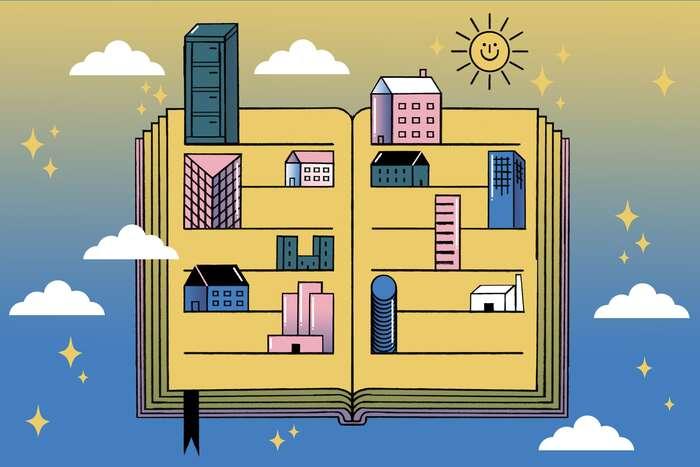 """Kdo jsou největší pronajímatelé vEvropě? Jaká jsou jejich portfolia ajak sechovají kesvým nájemníkům? Anakolik ovlivňují zhoršující sedostupnost bydlení? Tomá zacíl zodpovědět mezinárodní investigativní projekt """"Města vpronájmu"""". Ilustrace Moritz Wienert pro projekt Cities for Rent"""