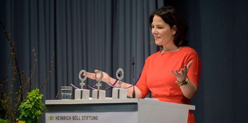 Zelená spolupředsedkyně Annalena Baerbocková sestala pozisku kancléřské nominace před dvěma týdny doslova mediální hvězdou. Foto Stephan Roehl, flickr.com