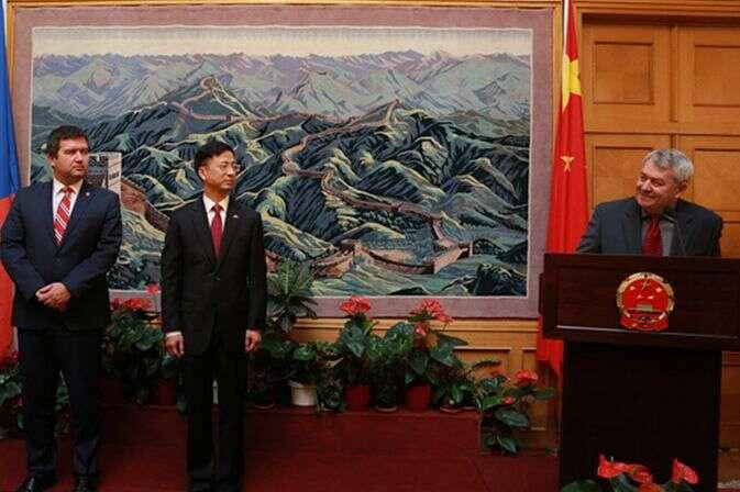 Foto Chinese Embassy inPrague