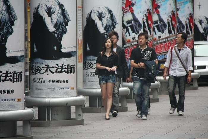 Dnešní demokratický Tchaj-wan jedůkazem toho, že dědictví čínské civilizace nevylučuje úspěšné fungování demokratického politického systému arespekt kuniverzálním lidským právům. Foto keso s, Flickr