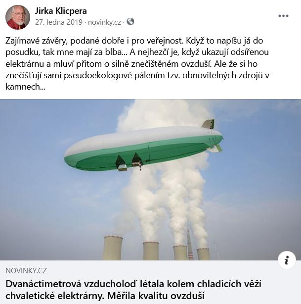 Pseudoekologové pálí vkamnech tzv. obnovitelné zdroje. Foto FBJiří Klicpera