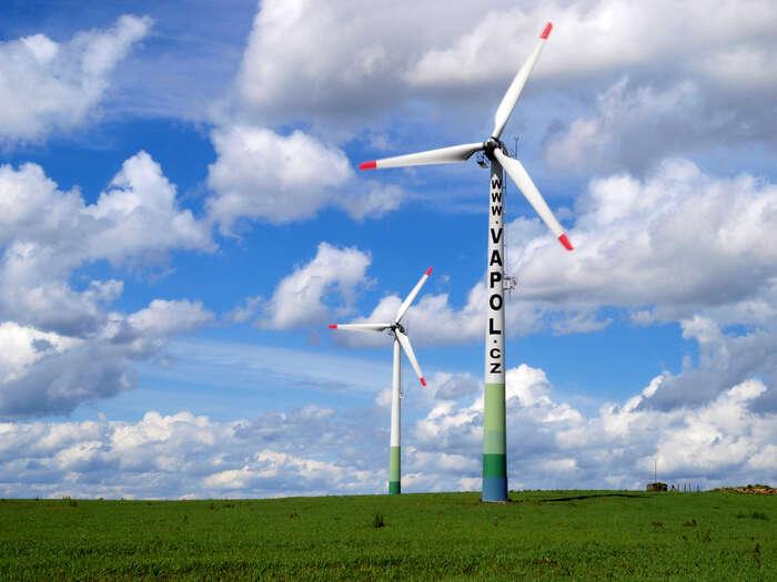 Transformovaný ČEZ bynaplňoval cíle nové energetické koncepce nazákladě vládního plánu nasociálně citlivý přechod načistou energii zobnovitelných zdrojů. Foto archiv DR