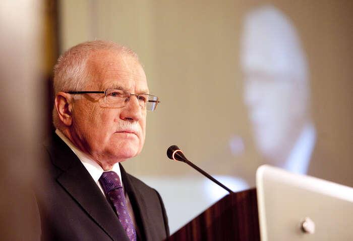 Václav Klaus seopět vrací doveřejné sféry. Foto Mikuláš Křepelka, Mediafax
